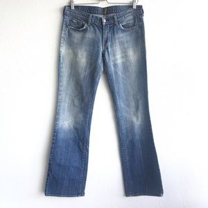 7 FOR ALL MANKIND Bootleg Denim Jeans